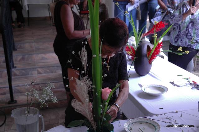 Japanese calendar exhibition 2014 - ikebana