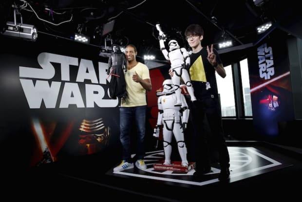 Kylo Ren and First Order Stormtrooper JAKKS Figures