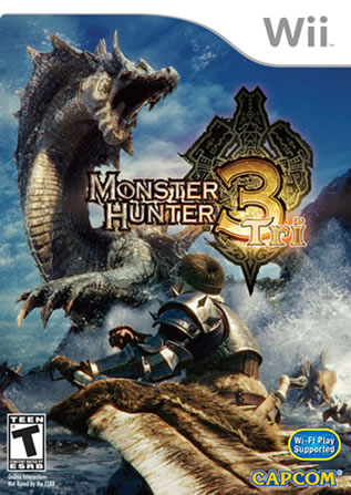 monster hunter tri nintendo wii