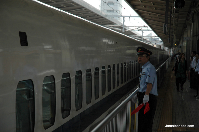 Nagoya-Japan-train-station-attendant