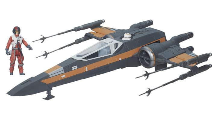 Poe Dameron X-Wing Fighter