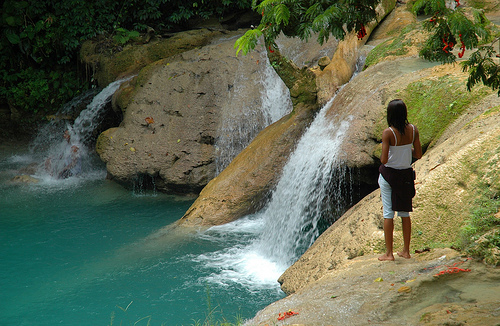 Cool Blue Hole Jamaica