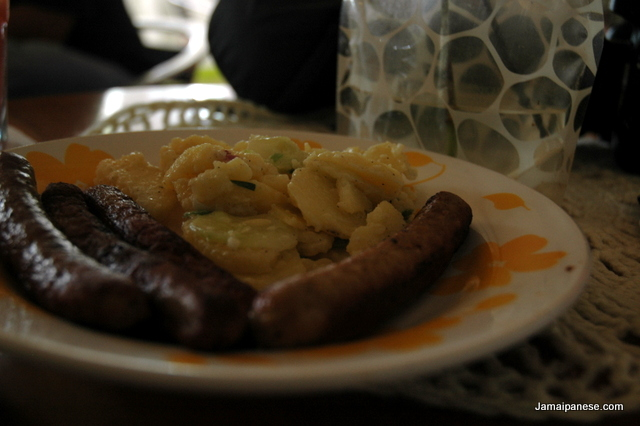 german-sausages-potato-salad