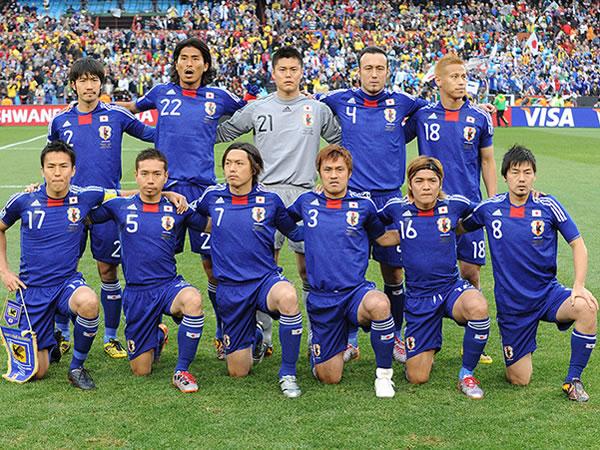 Japanese Football Team World Cup 2010