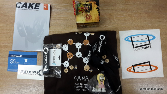 Lootcrate August 2013 - Cake