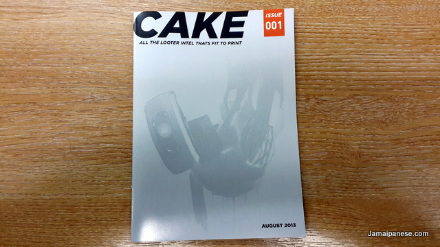 Lootcrate magazine cake