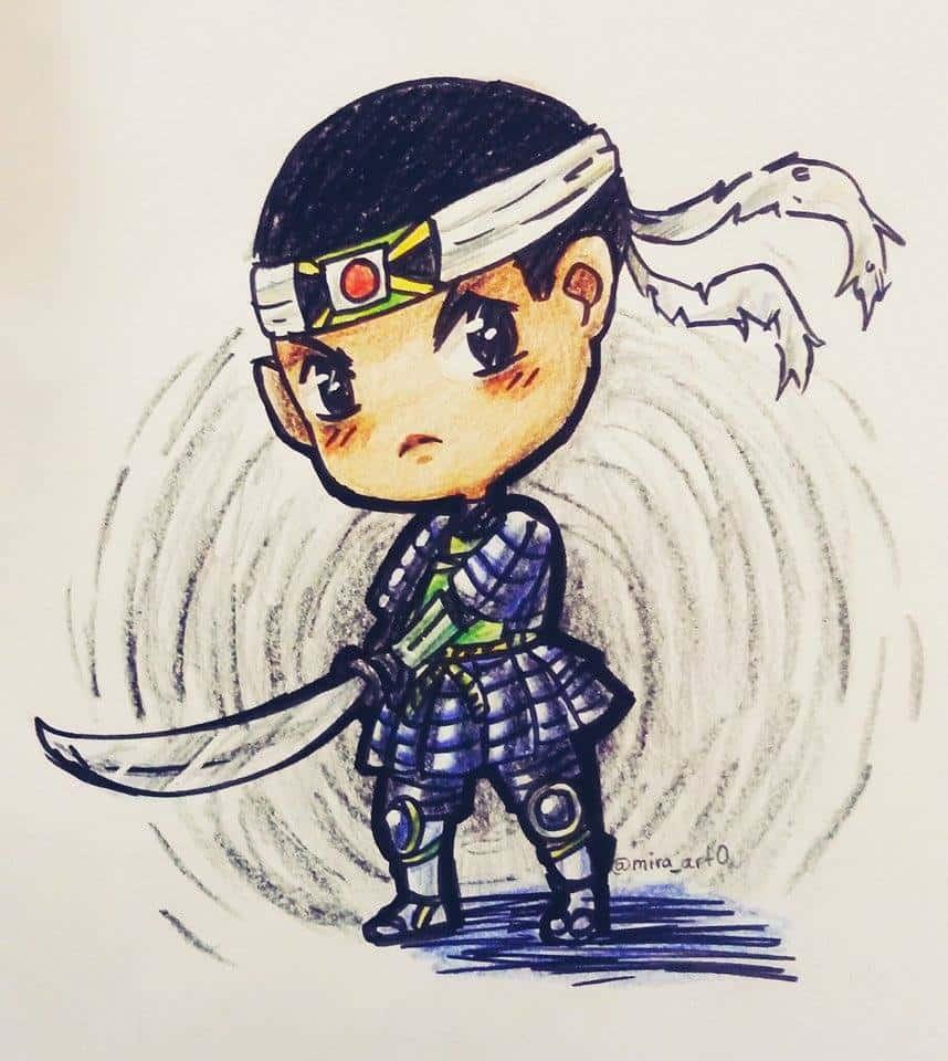 samurai-jamaipanese-art