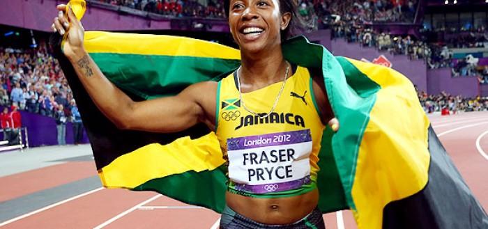 shelly-ann-jamaica-100m-olympics