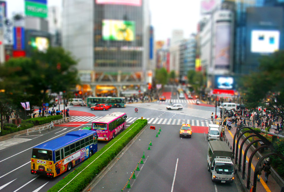 shibuya-crossing-tilt-shift